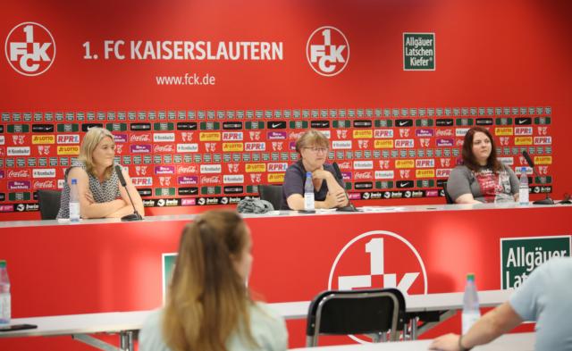 Frauen und Fußball – Diskussionsrunde auf dem Betze